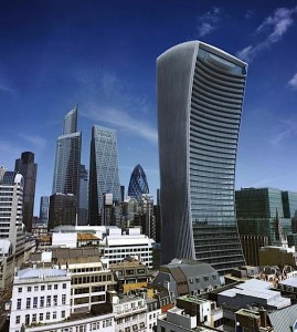 The Walkie Talkie, London - this year's winner of the Carbuncle Cup