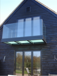 Frameless Glass, balcony