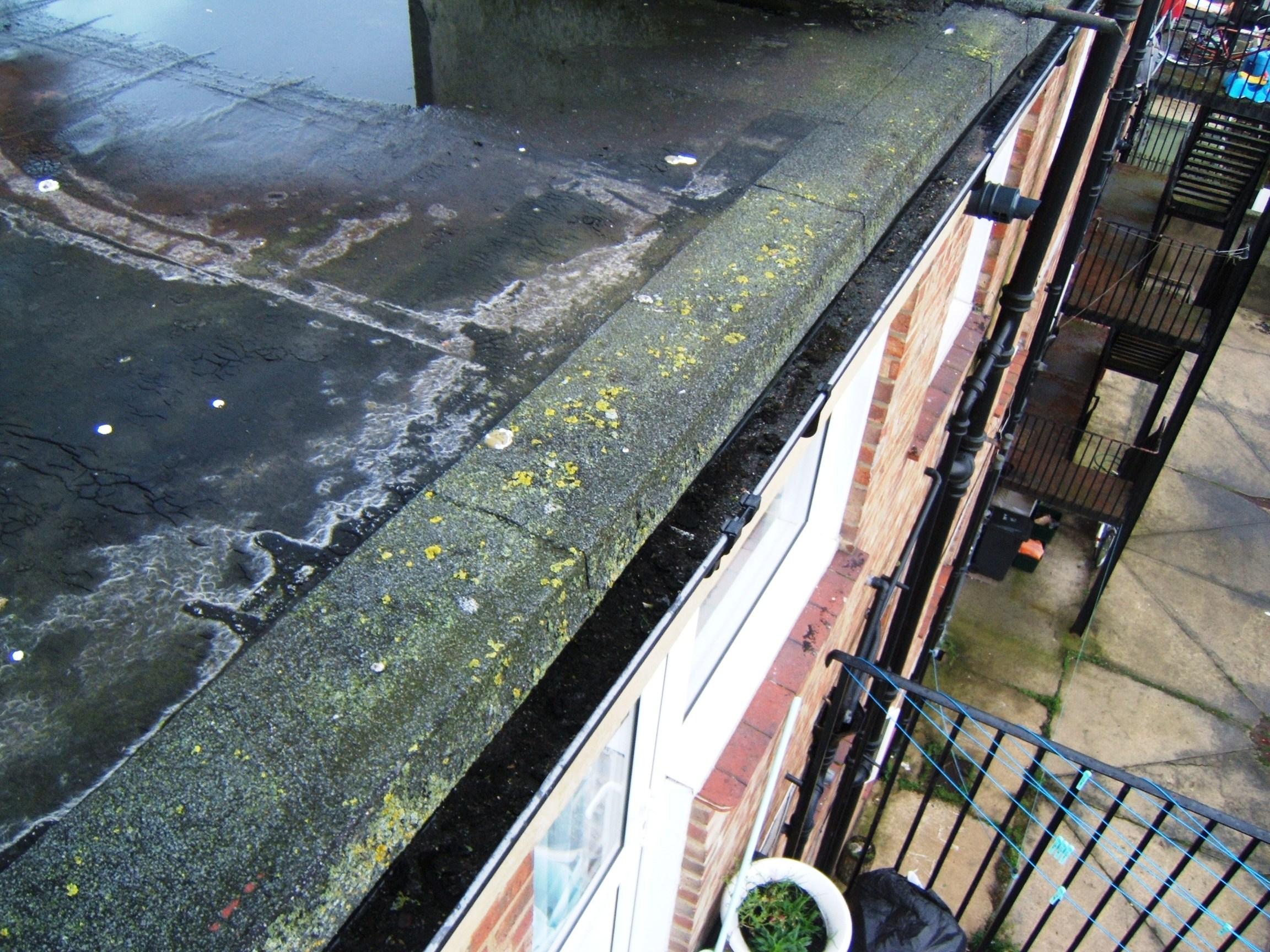 Roof felt repairs