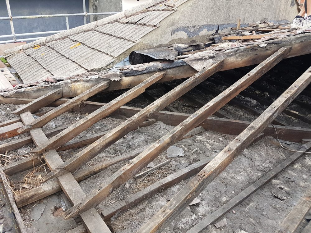 Slate Roof Restoration Replacing Concrete Tiles With