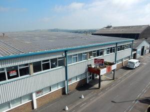Exterior view of Premier House, Hangar 1, Shoreham Airport