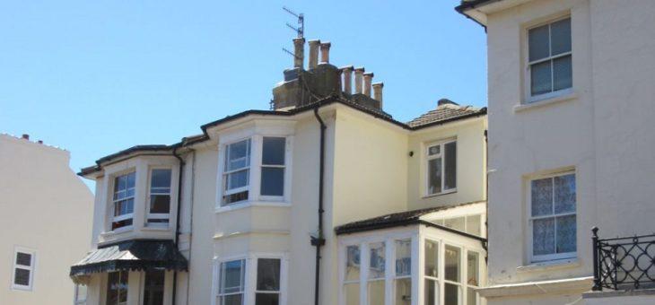 View of Bedford Place Regency Buildings Brighton