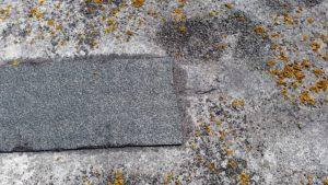 Felt repair to Asphalt roof